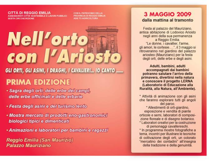 ORTO Ariosto